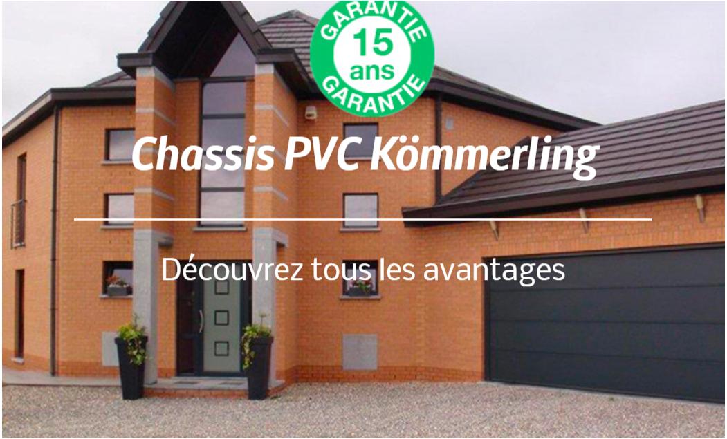 chassis pvc charleroi